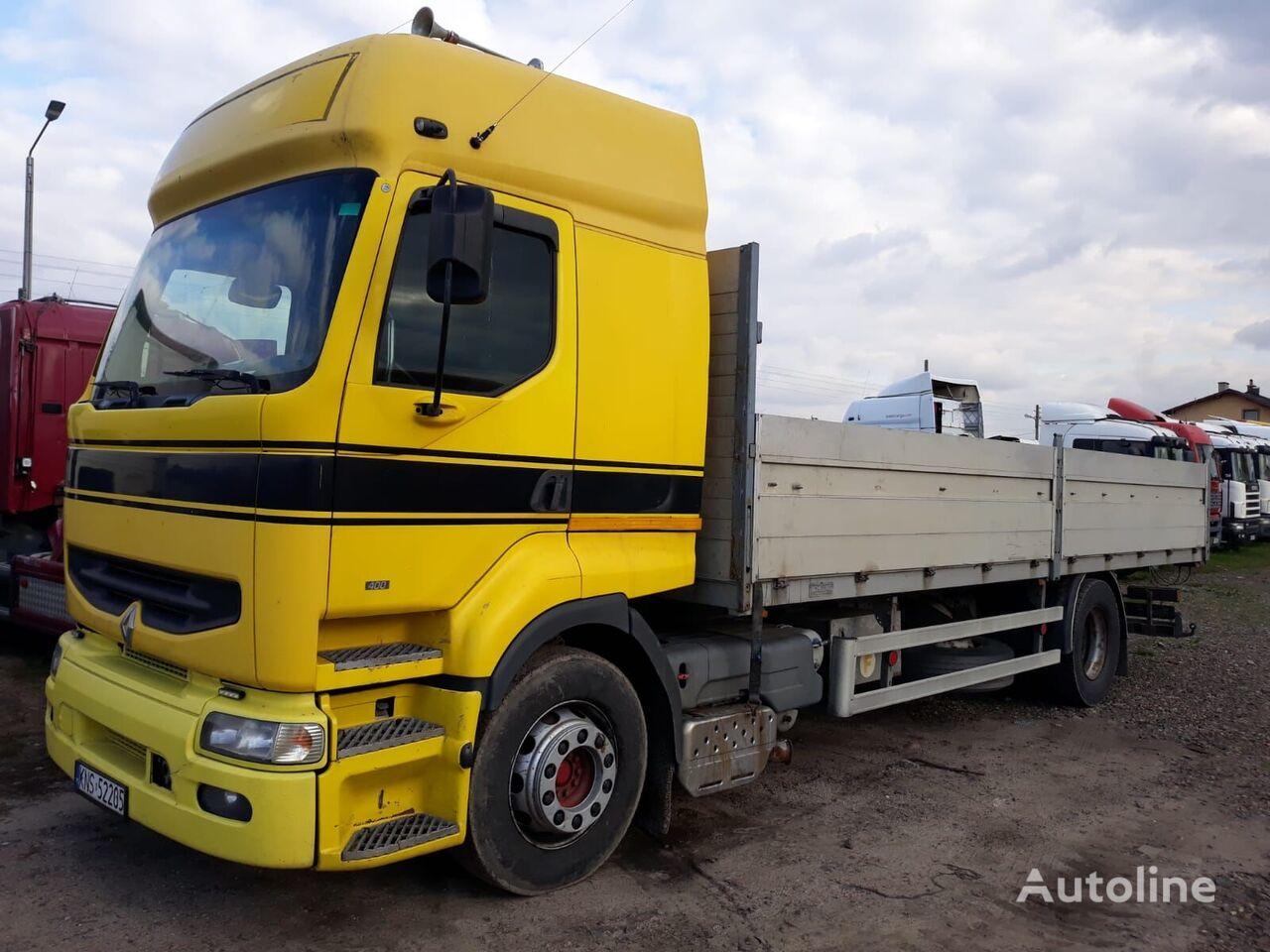 RENAULT PREMIUM 400KM, MANUAL kamion s ravnom platformom