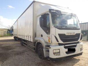 IVECO Stralis AT 190 S 36 kamion sa klizna zavesa cerada + prikolica sa kliznom ceradom