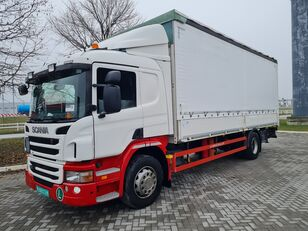 SCANIA P320 / STRANICE / LIFT kamion sa klizna zavesa cerada
