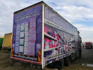 SCHWARZMÜLLER LBA ROLÓPONYVÁS FELÉPÍTMÉNY kamion sa klizna zavesa cerada