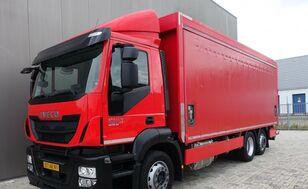 IVECO Iveco Stralis 360 6x2 Italszállító+HF kamion sa klizna zavesa cerada