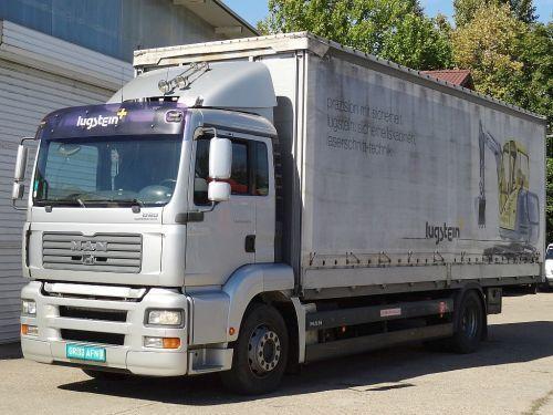 MAN TGA 18.320 kamion sa klizna zavesa cerada