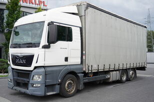 MAN TGX 26.440 XLX , E6 , 6X2 , MEGA , 19 EPAL , RSAS system kamion sa klizna zavesa cerada