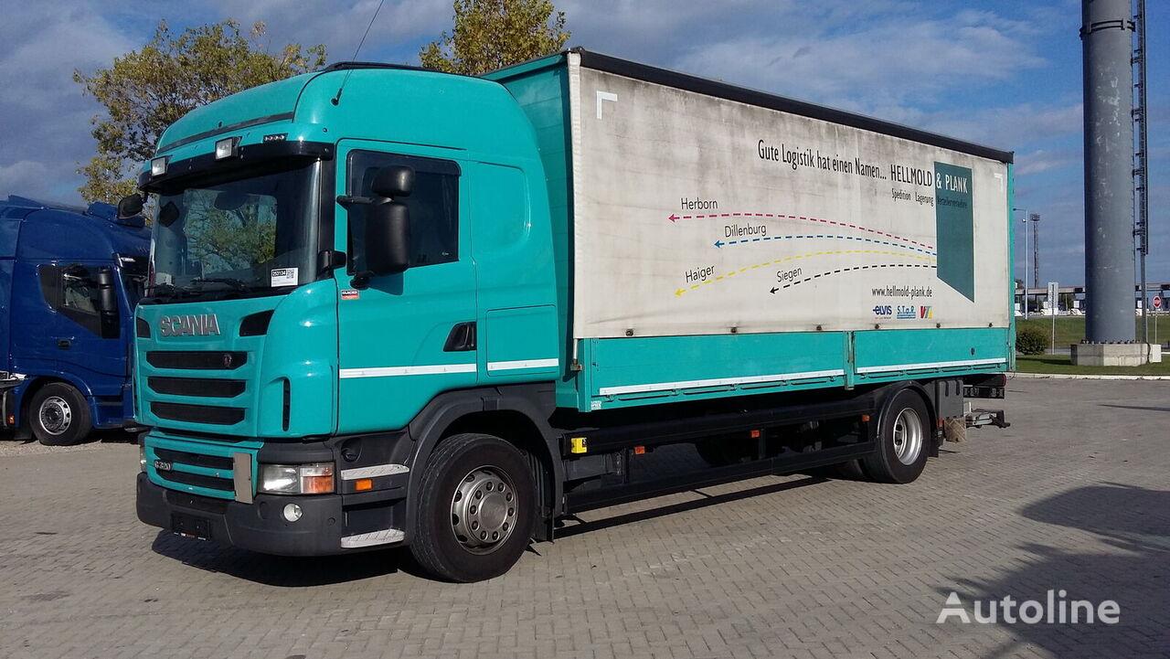 SCANIA G320 4X2 / GERMAN BRIEF kamion sa klizna zavesa cerada