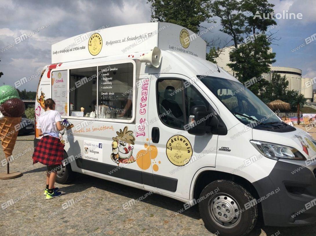 novi BMgrupa Food Truck, Imbissmobile, zabudowa na pojeździe kamion sandučar