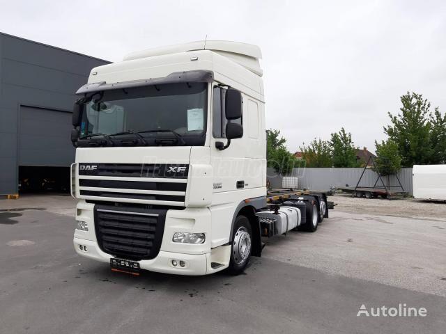 DAF 105.460 6x2 EU5 EEV BDF Kéziváltó kamion-šasija