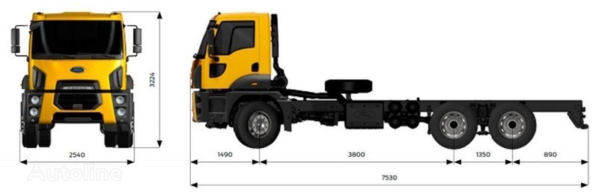 novi FORD 4142M kamion-šasija