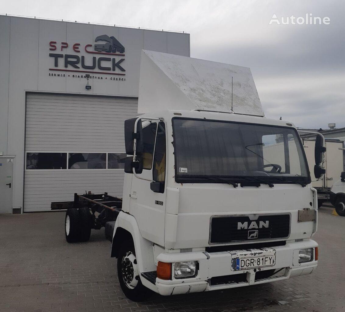 MAN L-2000, 8.153, full Stell, 7 meters  kamion šasija