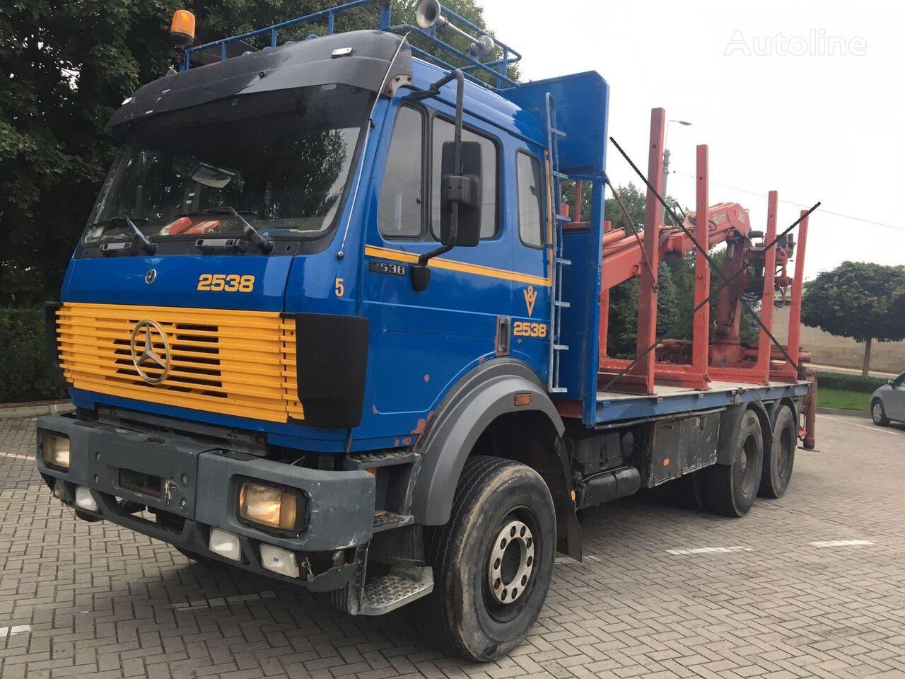 MERCEDES-BENZ 2538  6x4, full spring, without crane kamion šasija