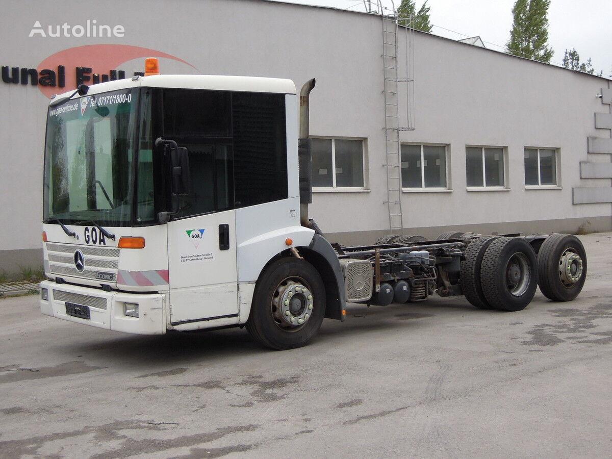 MERCEDES-BENZ 26-28 Econic Podwozie rama 5,7m 6 metrów kamion-šasija