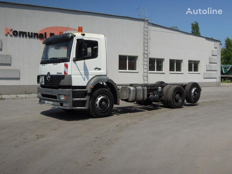 MERCEDES-BENZ Atego chassis frame to building 6m kamion-šasija