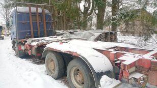 SCANIA 144 6x4 chassis, big axle, full steel kamion šasija