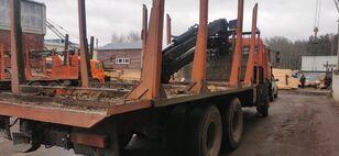 KAMAZ Манипулятор kamion za prevoz drva
