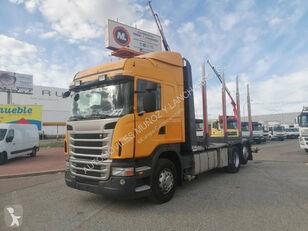 SCANIA 420 kamion za prevoz drva