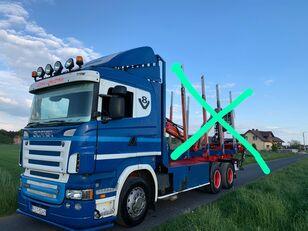 SCANIA R500 kamion za prevoz drva
