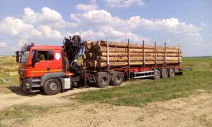 MAN TGS 26.480 6x4 BB kamion za prevoz drva