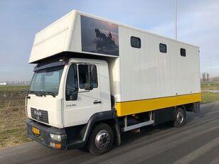 MAN LE8-180 kamion za prevoz konja