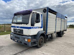 MAN 14.224 4x2 Animal transport kamion za prevoz stoke