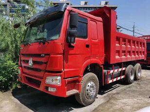 HOWO 375 10wheels 6x4 cheap low price good conditon kiper