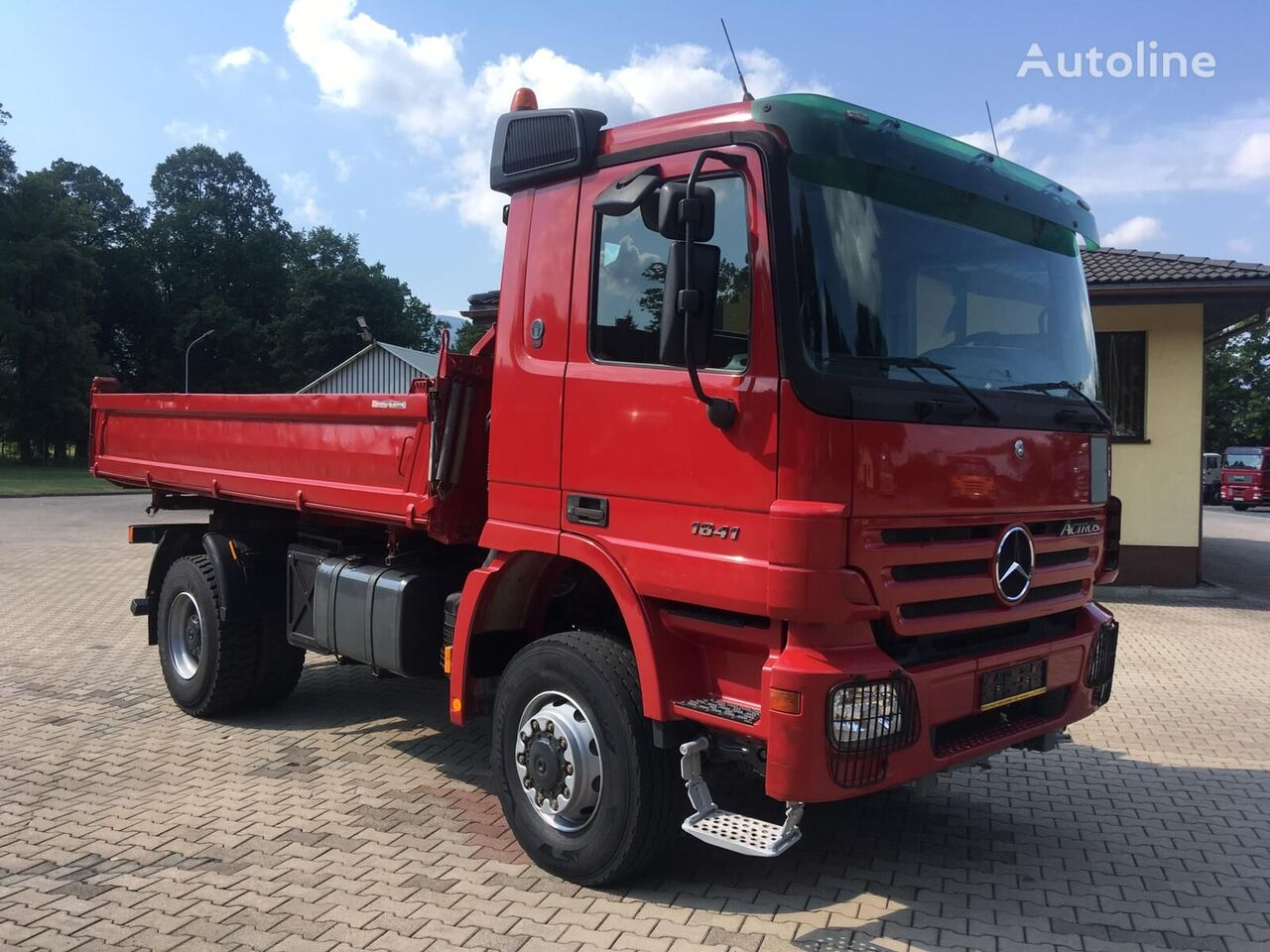 MERCEDES-BENZ 1841 AK ACTROS MP2 kiper