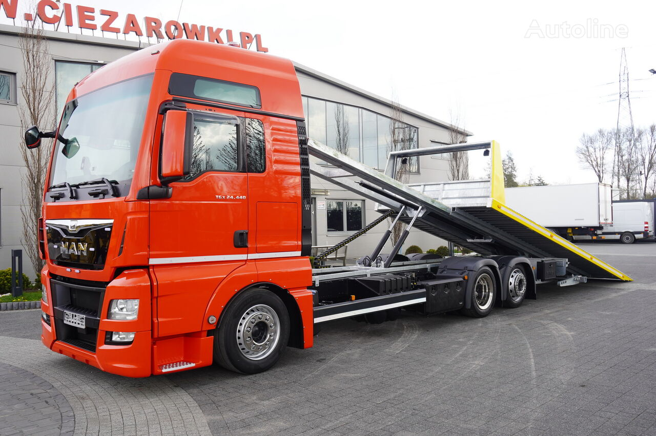 MAN TGX 26.440 XXL , E6 , 6X2 , NEW BODY 7,5m , hydraulic , 2x winch šlep auto