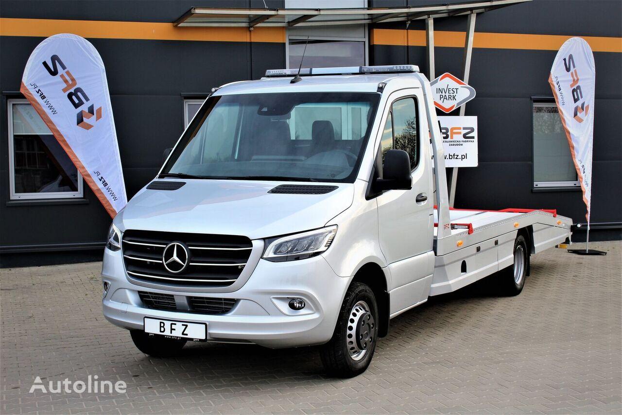 novi MERCEDES-BENZ Sprinter 519 V6  NAVI LED LUFTFEDERUNG NEU MODEL 907  šlep auto