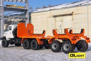 novi KRAZ 6322-05 šleper za prevoz cevi