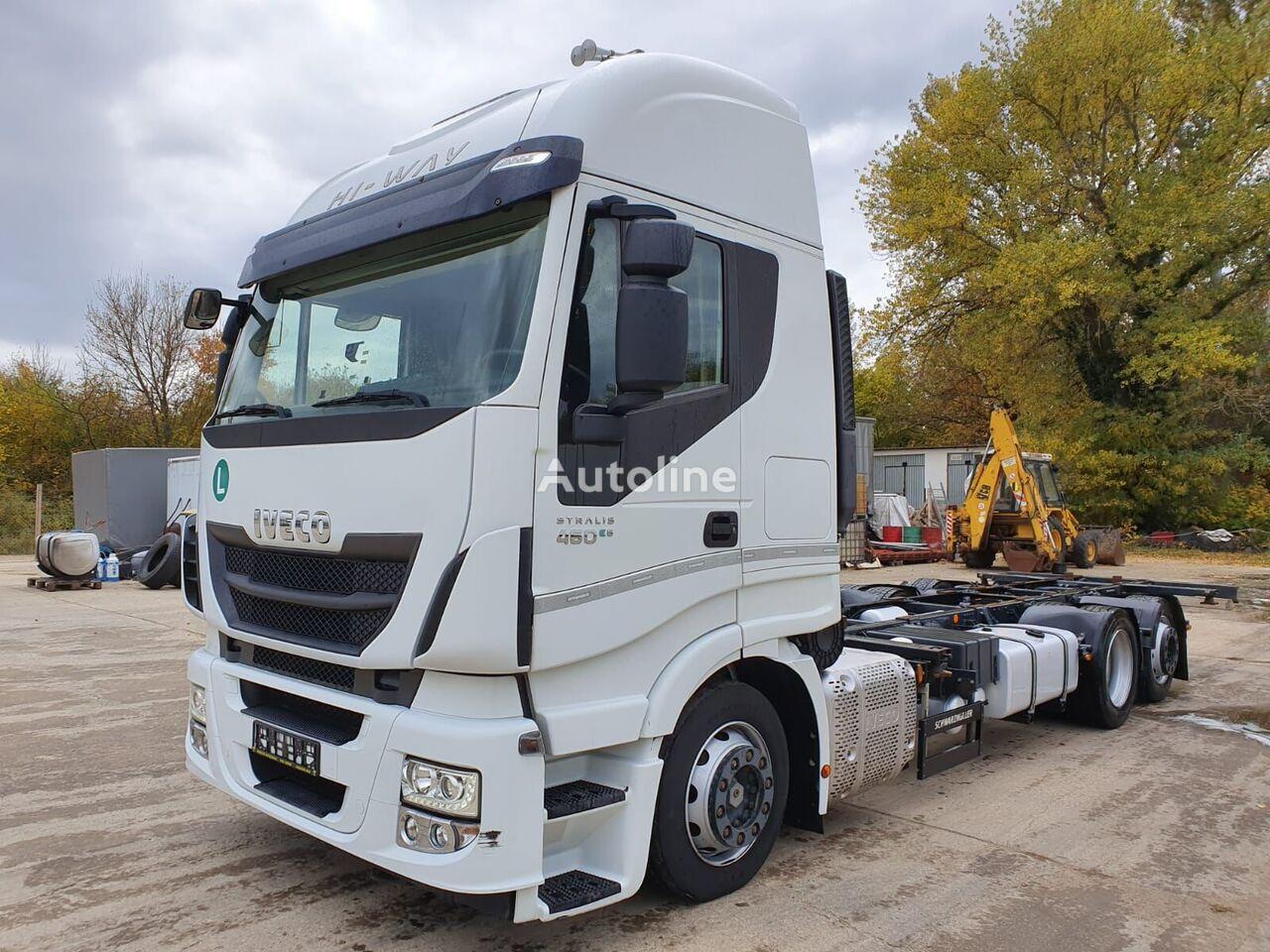 IVECO AS260S46 vozilo za prevoz kontejnera