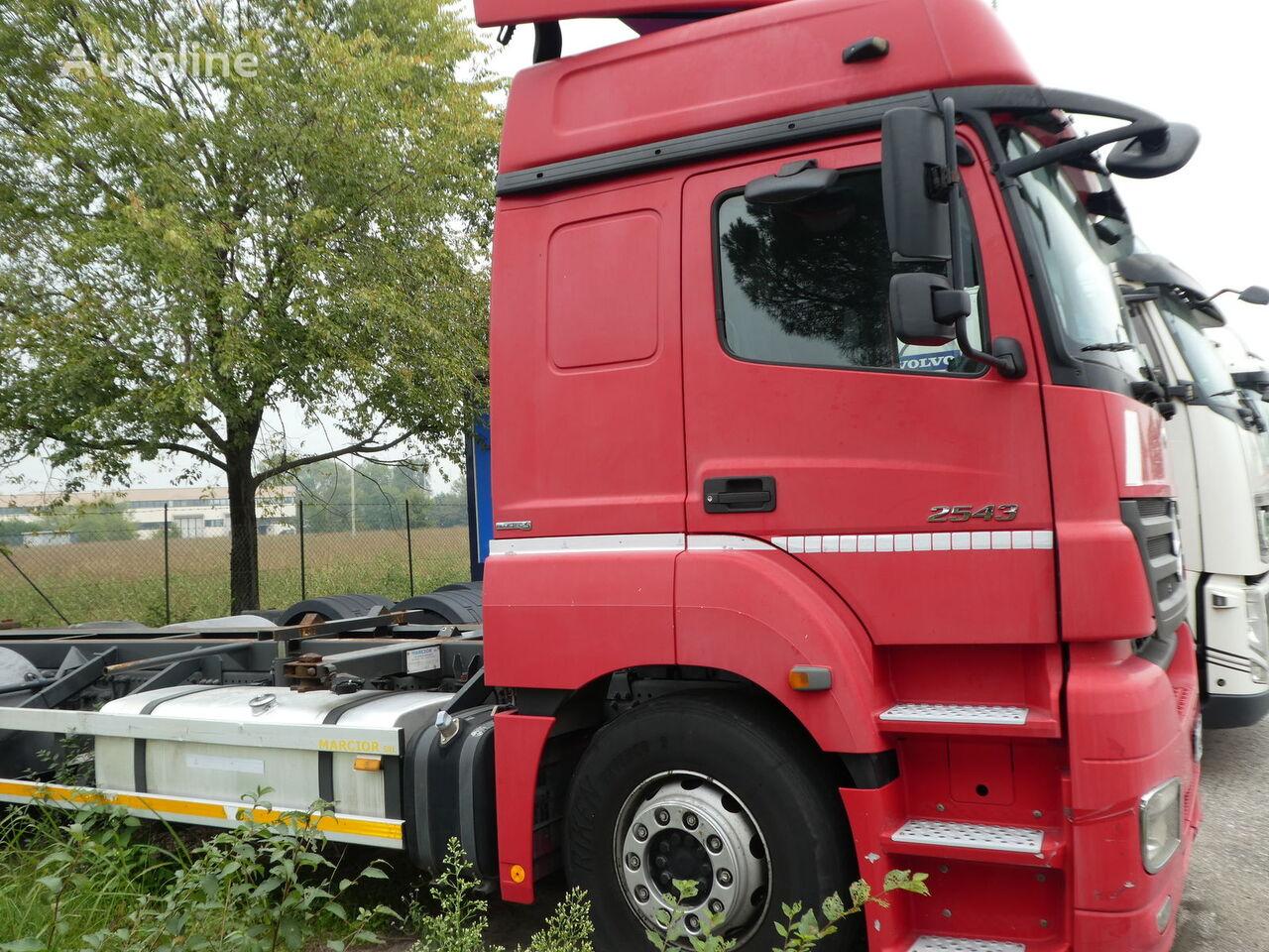MERCEDES-BENZ ACTROS 2543 E5 vozilo za prevoz kontejnera