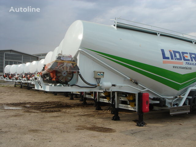 novi LIDER NEW ciment remorque 2018 YEAR (MANUFACTURER COMPANY) kamion za prevoz cementa
