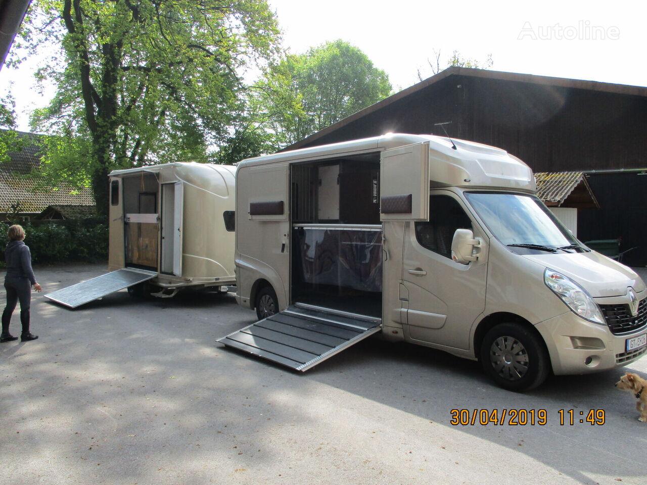 novi RENAULT Master kamion za prevoz konja