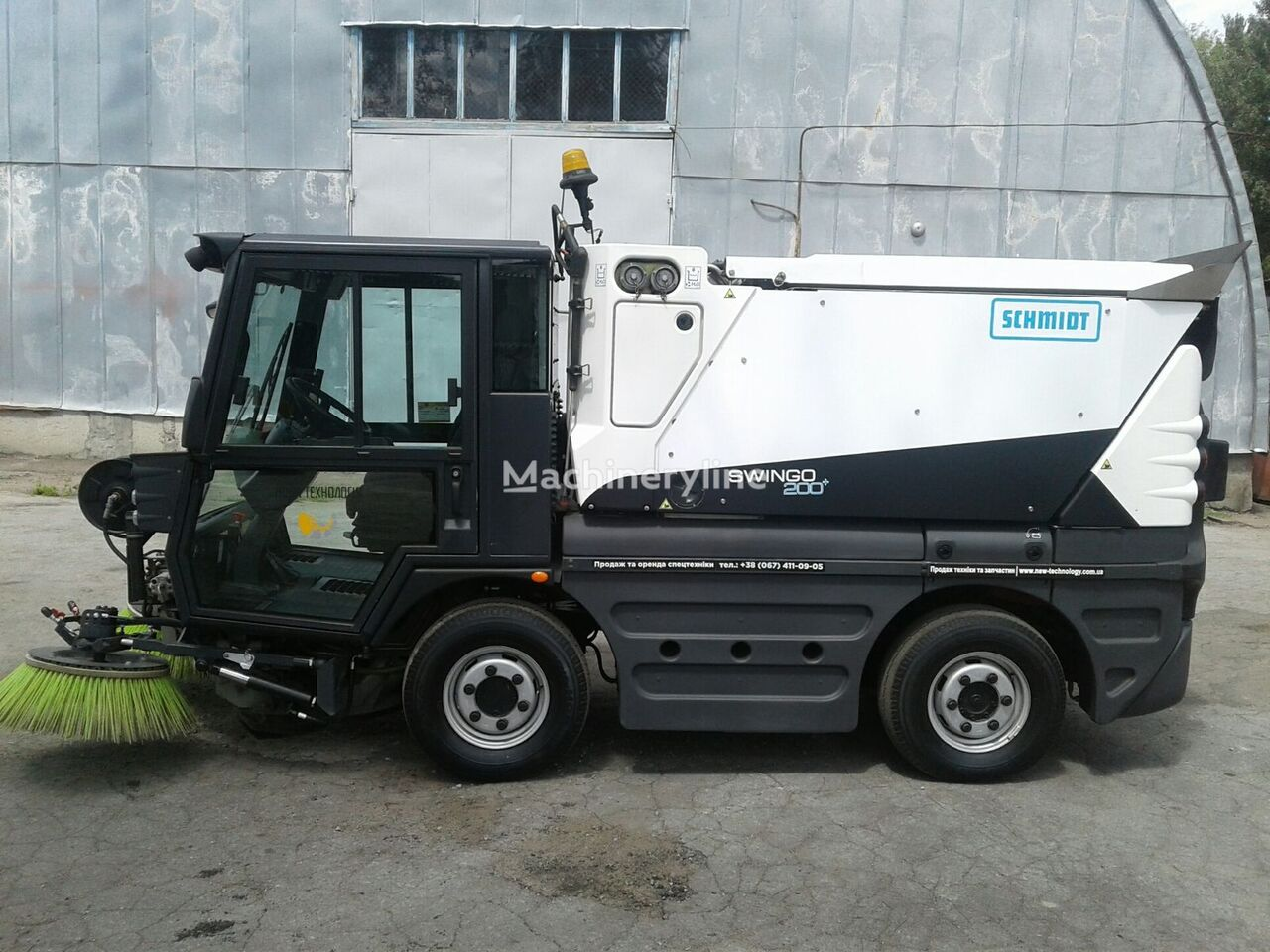 SCHMIDT Swingo 200+ (V NAYaVNOSTI) vozilo za čišćenje ulica