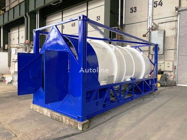 GAS, Cryogenic tank,  Oxygen, Argon, Nitrogen, LIN, LAR, LOX, IM rezervoar-kontejner 20 stopa