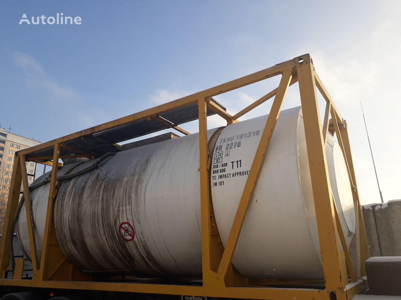 VAN HOOL rezervoar-kontejner 20 stopa