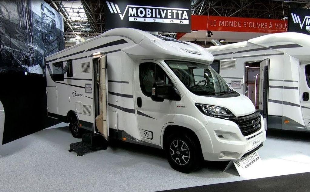 nova FIAT Mobilvetta K-SILVER 59,Premium Luxury SemiIntegrate Model 2020,P kuća na točkovima