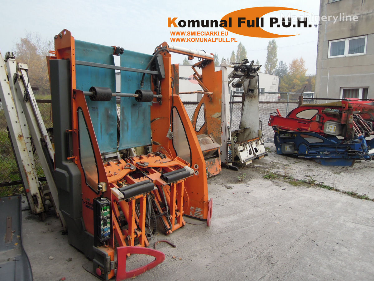 Zoeller WRZUTY na pojemniki 110-1100l autopodizač kontejnera