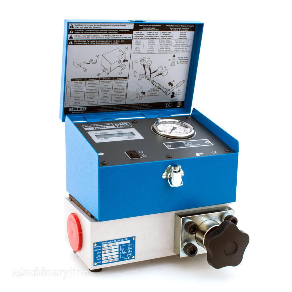 nova Webtec DHT 801 Flowmeter hydraulic tester dijagnostička oprema
