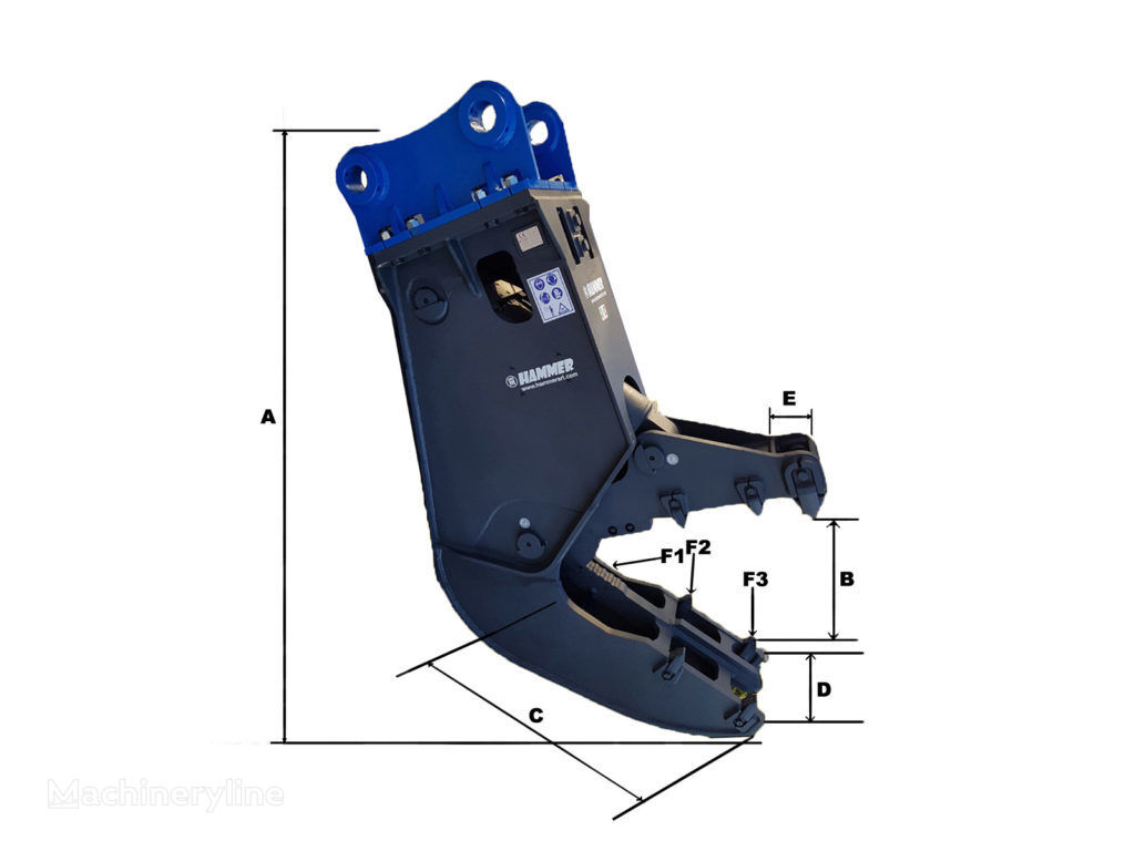 novo HAMMER FH10 hidraulične makaze