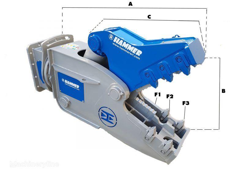 novo HAMMER RH05 hidraulične makaze