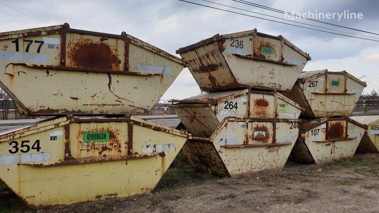 Kontenery do złomu śmieci gruzu, hakowe, bramowe kontejner za glomazni otpad