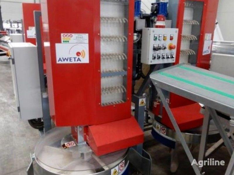 AWETA DRY BINS FILLER, FLOWPACK ATMOSPHERE PACKING MACHINE pakerica