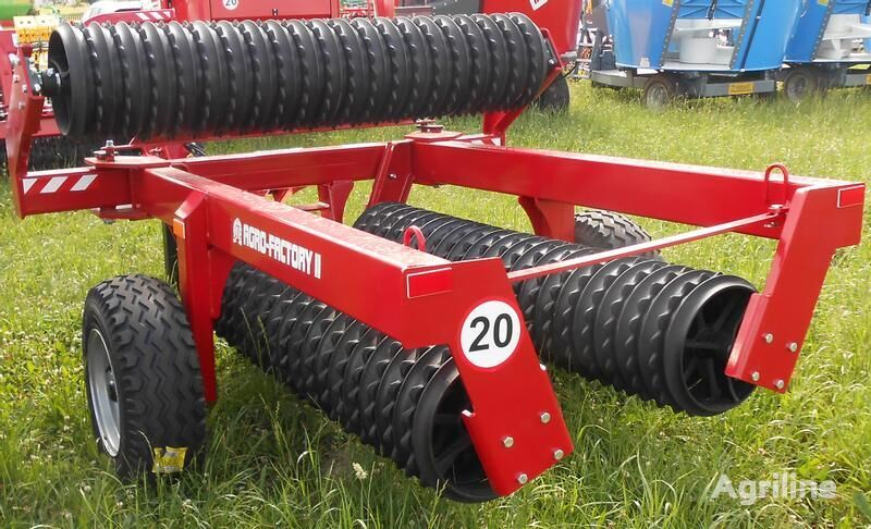 novi AGRO-FACTORY II Ackerwalze/ cultivation roller/ Wał uprawny Grom poljoprivredni valjak