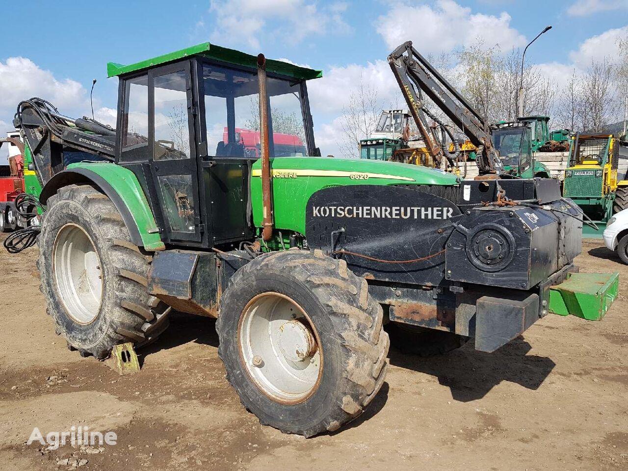 JOHN DEERE 6620 KOTSCHENREUTHER šumarski traktor