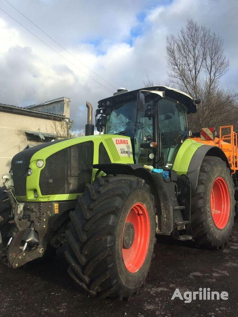 CLAAS Axion 930 traktor točkaš