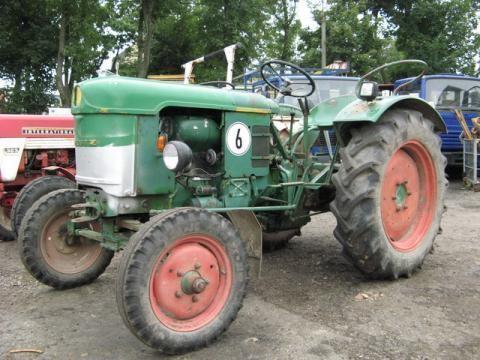 DEUTZ-FAHR D 25 S-N traktor točkaš