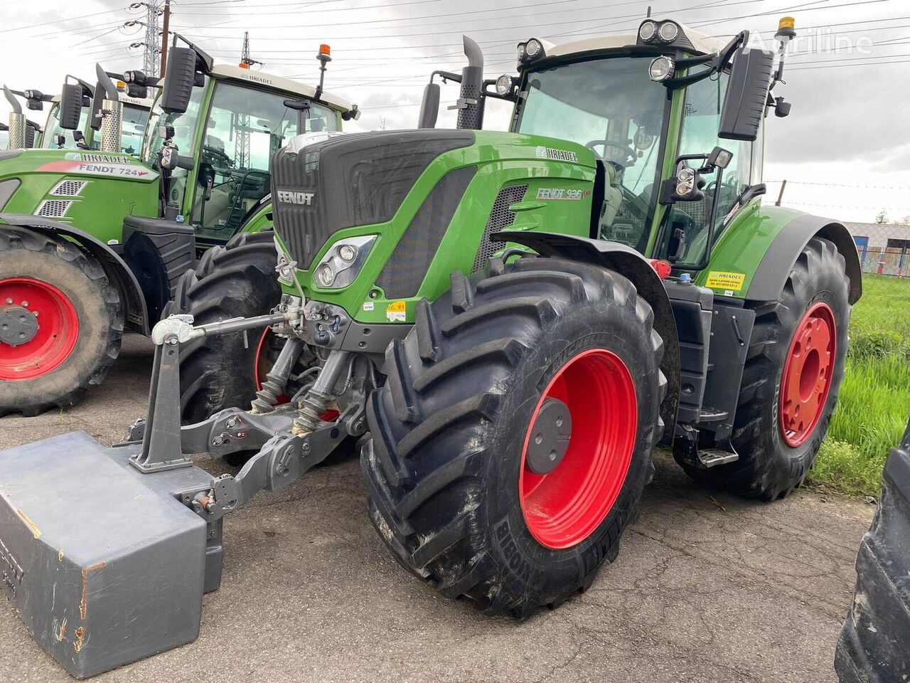 FENDT 936 traktor točkaš
