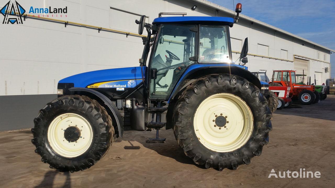 NEW HOLLAND TM140 traktor točkaš