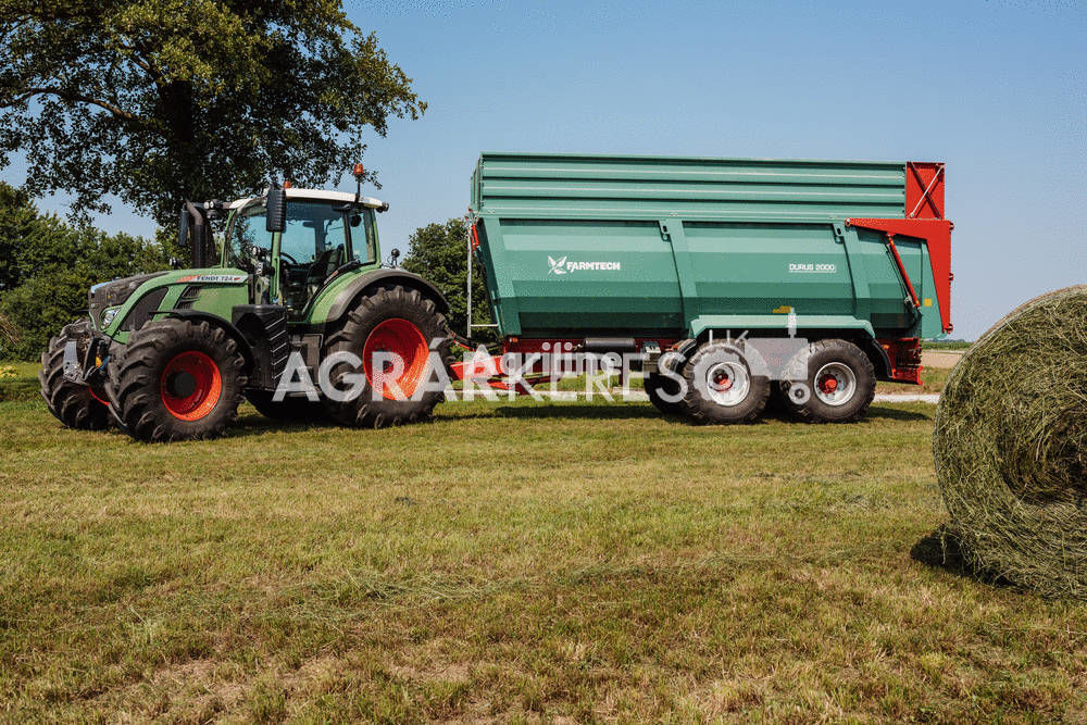 FARMTECH DURUS 2000 traktorska prikolica