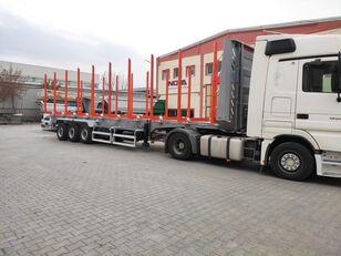 nova NOVA TIMBER SEMI TRAILER PRODUCTION with SAF AXLE and BUNKS timber  poluprikolica za prevoz drva