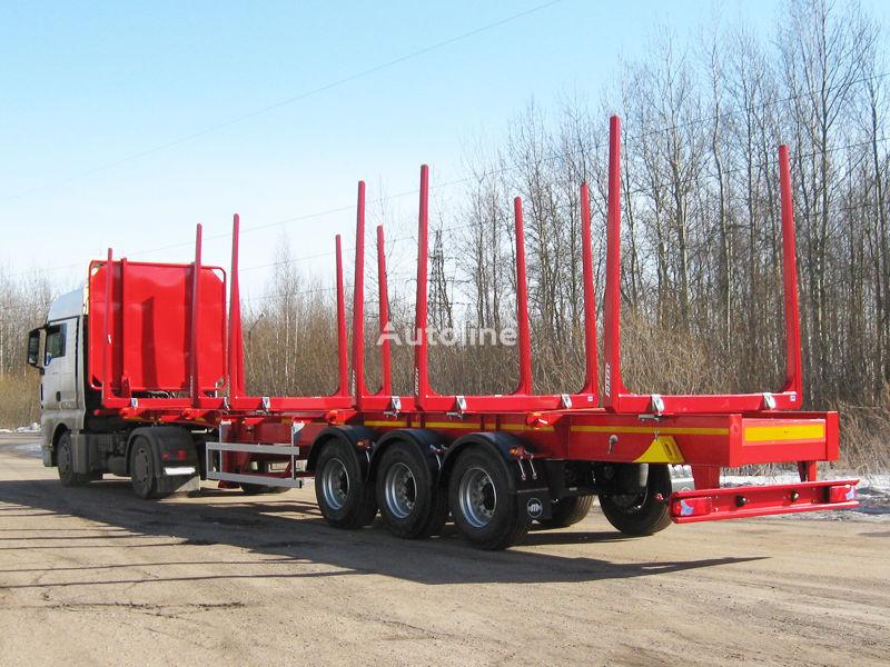 nova VARZ NPL3009 poluprikolica za prevoz drva